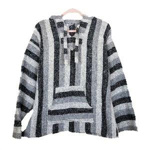 Jackets & Blazers - Baja Pullover Hoodie